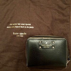 Kate Spade Small Leather Wallet